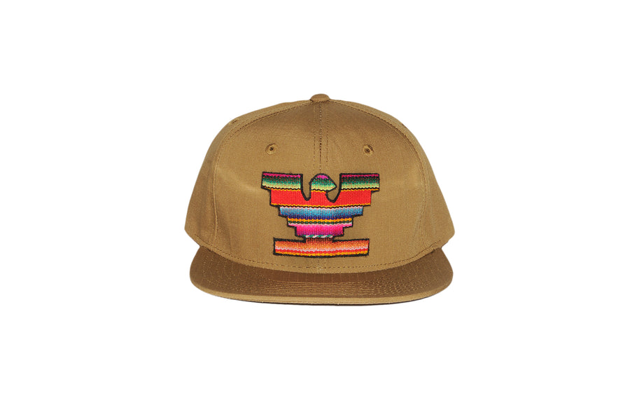 Huelga Zarape 5 Panel Hat