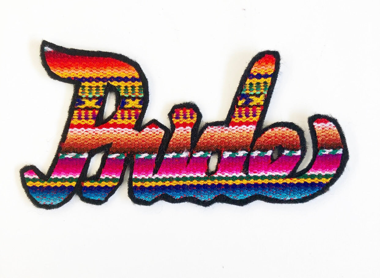 PRIDE Zarape Patch