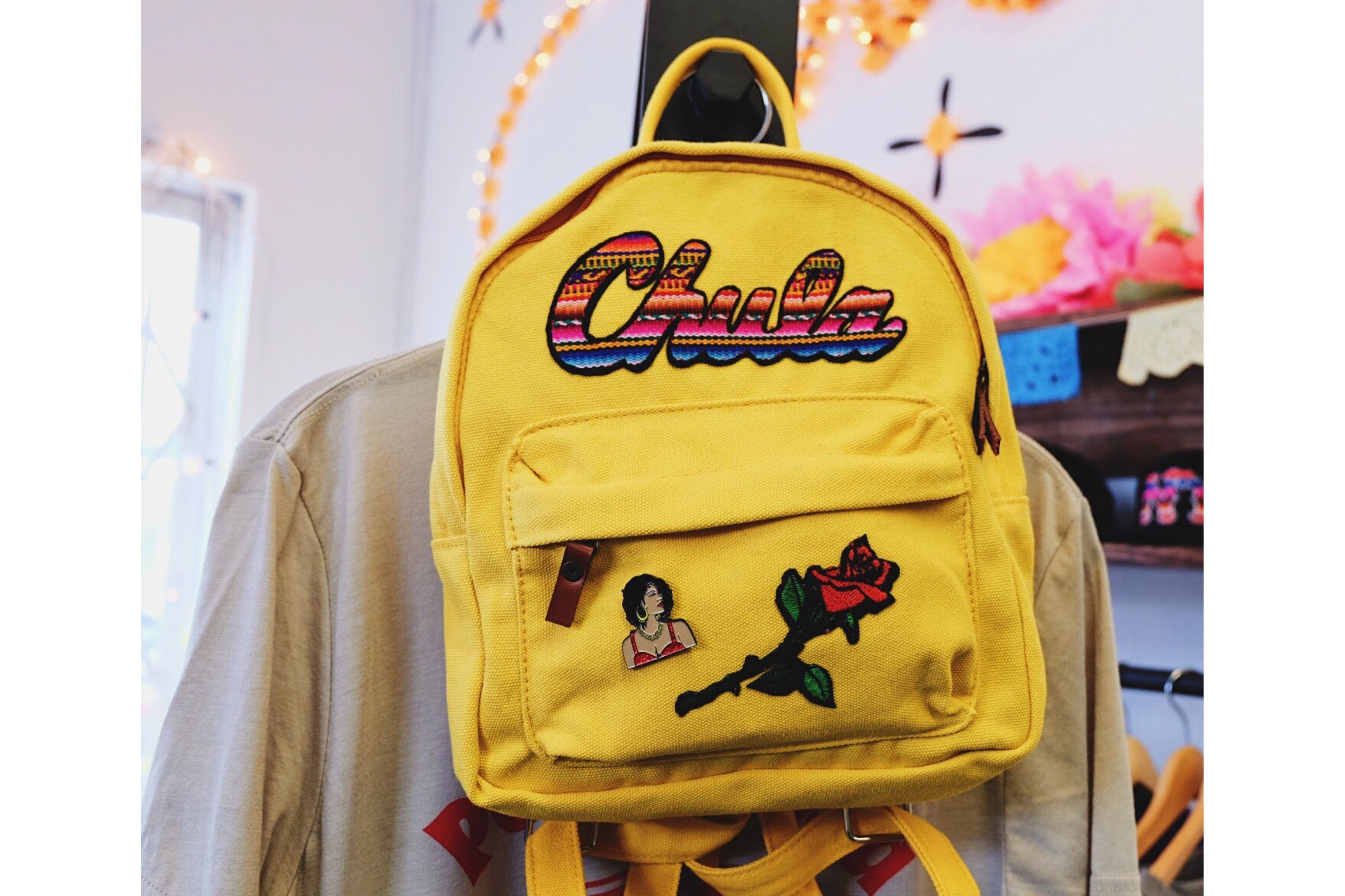 Mini Patch Canvas Chula Backpack