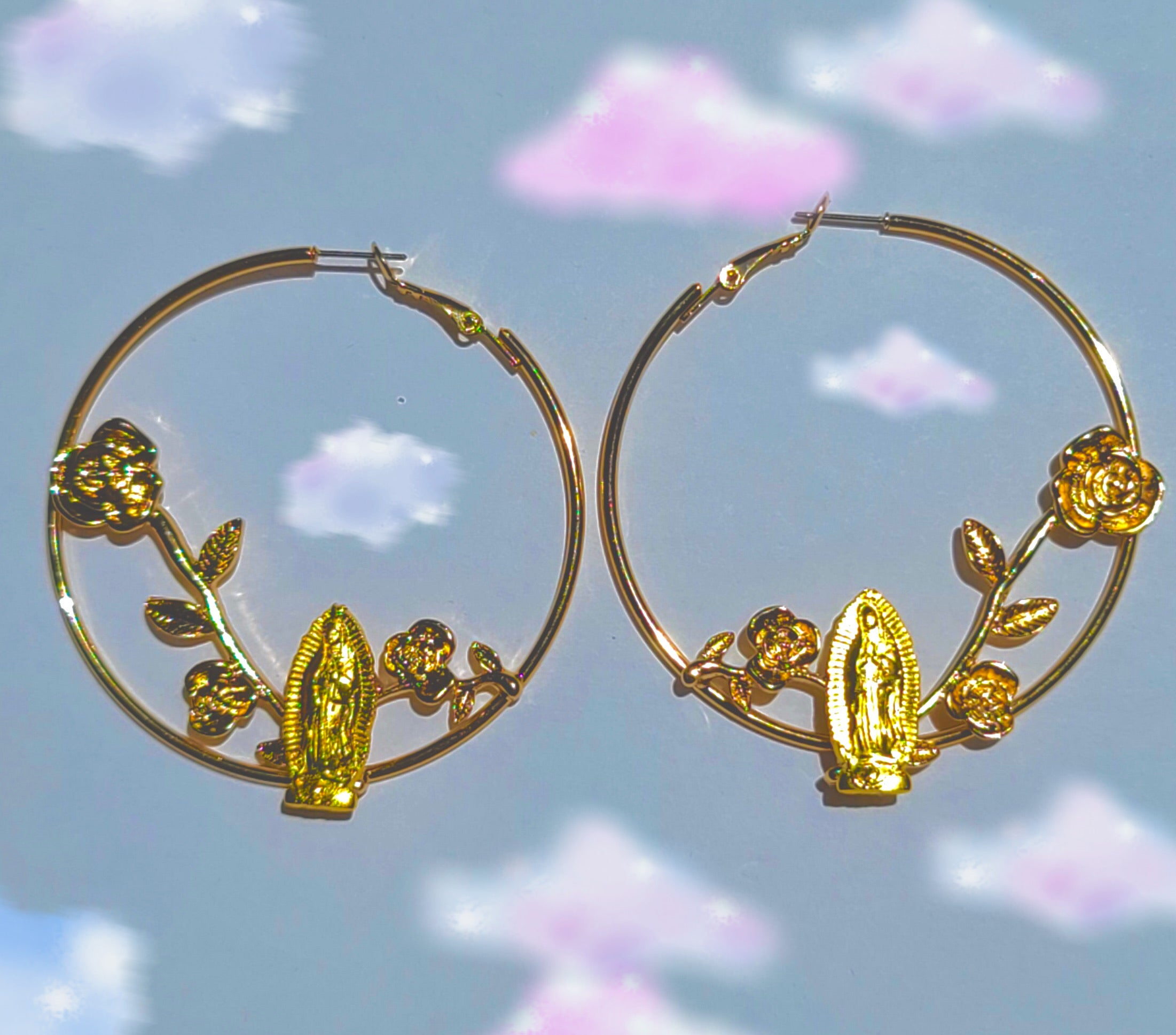 Virgen Rose Garden Hoops