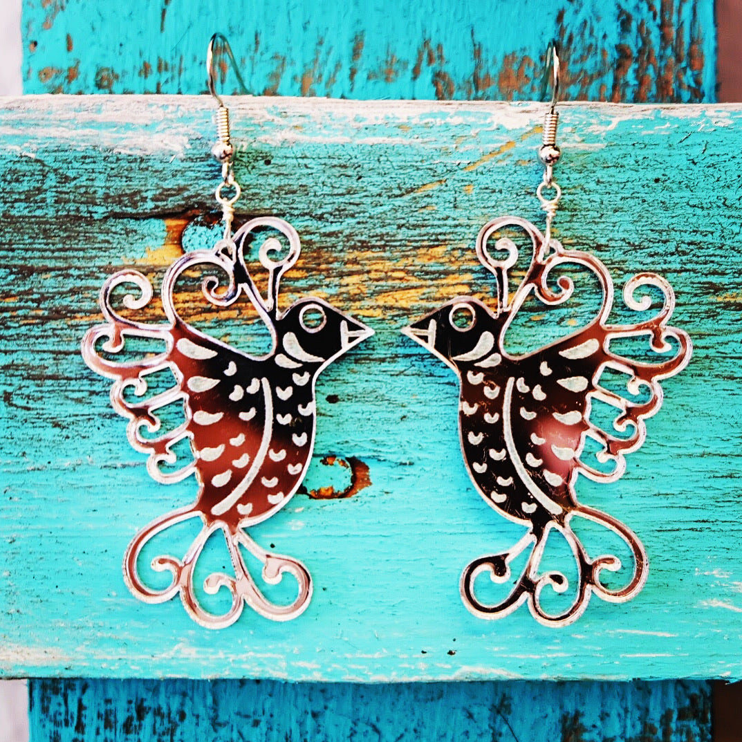 Pajarito Dangle Earrings
