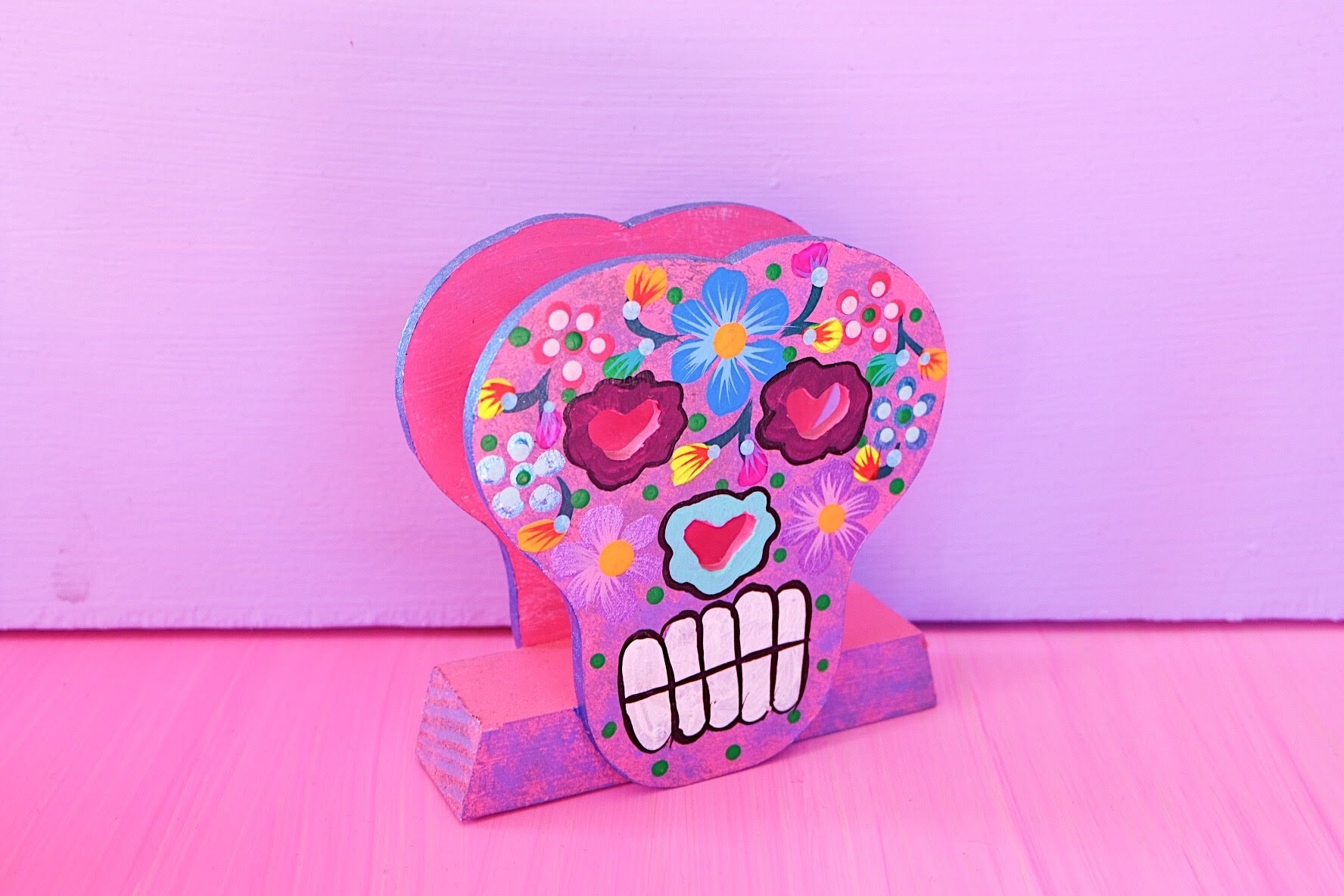 Calavera Mail Holder