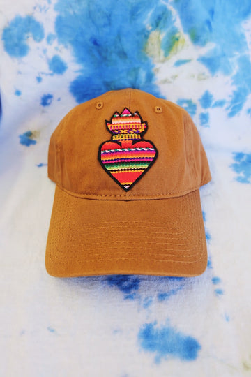 Sacred Heart Zarape Dad Hat