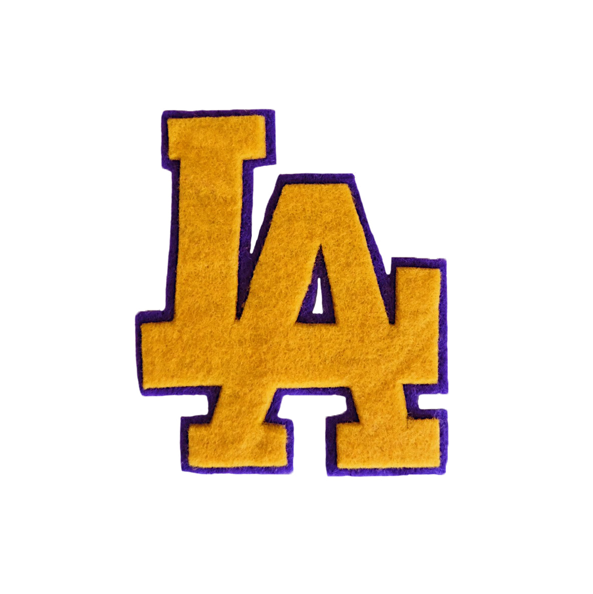 Lakers LA Felt Patch