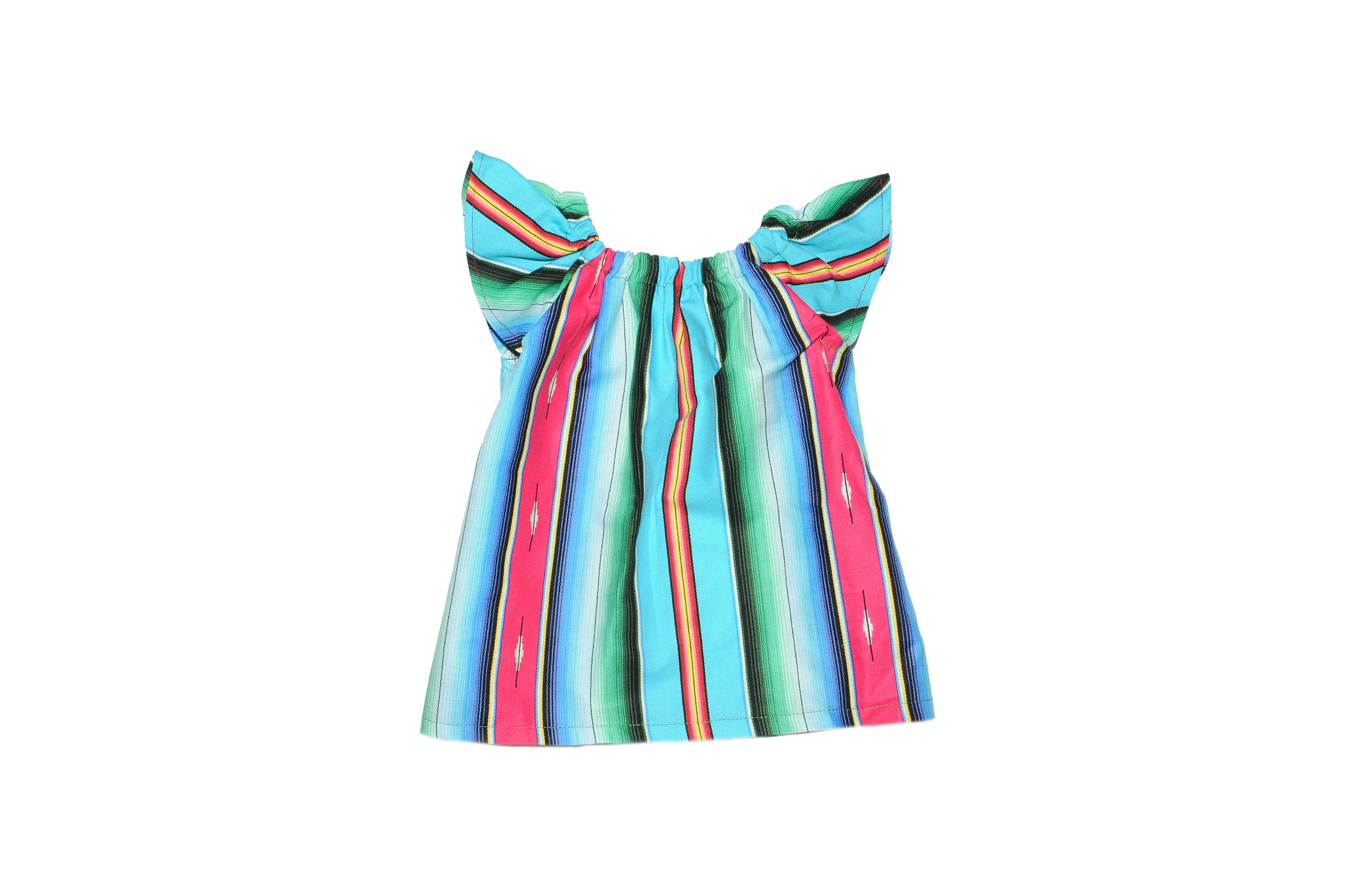 Zarape Blues Kid Dress