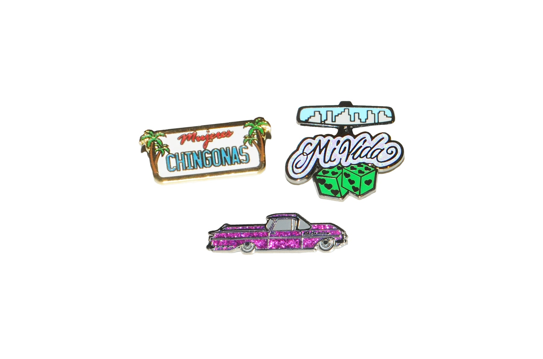 Lowrider Sueños Pin Collection