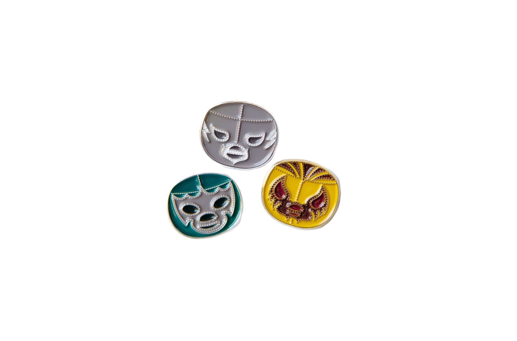 Lucha Pins by Lil Libros