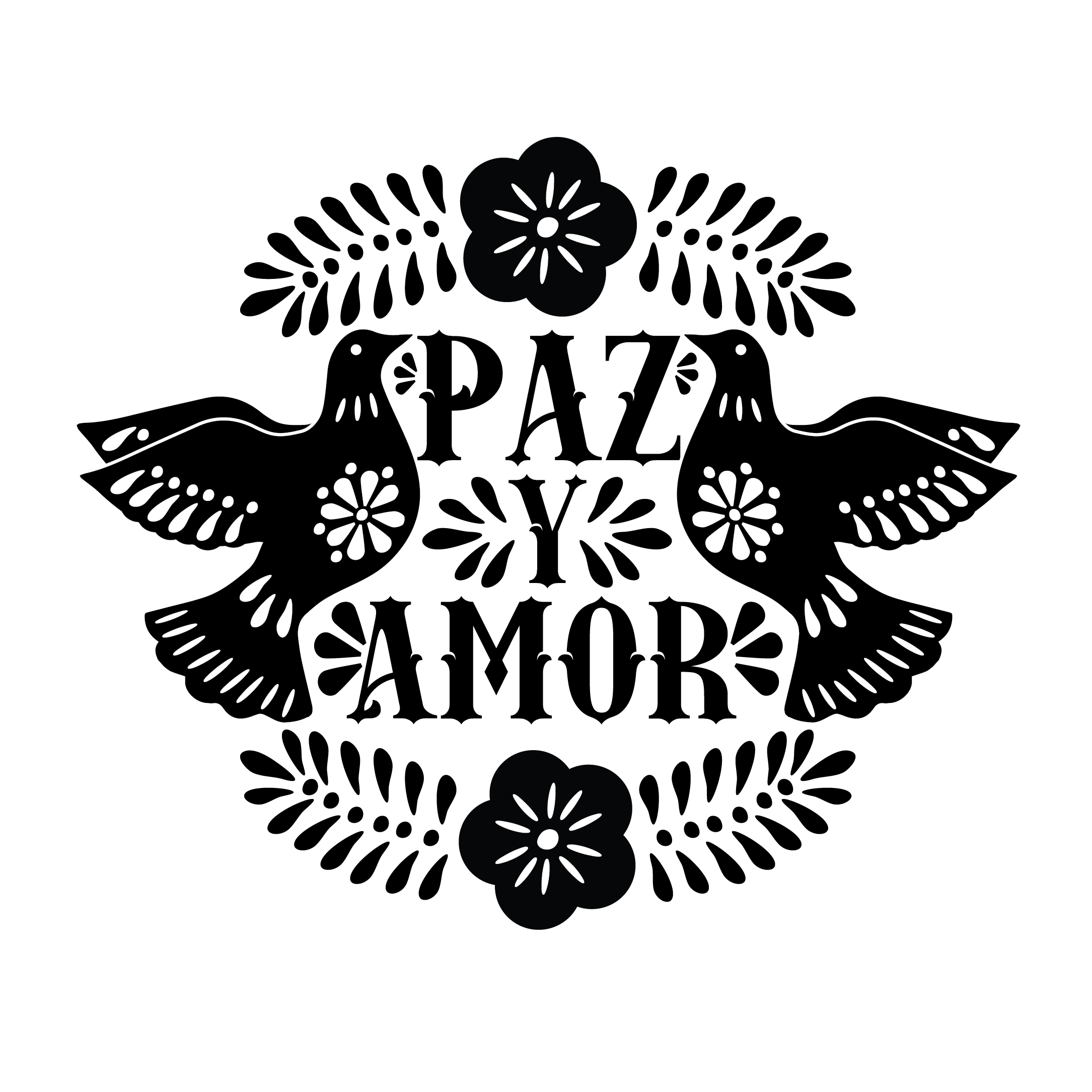 PAZ Y AMOR COLOR SHEET