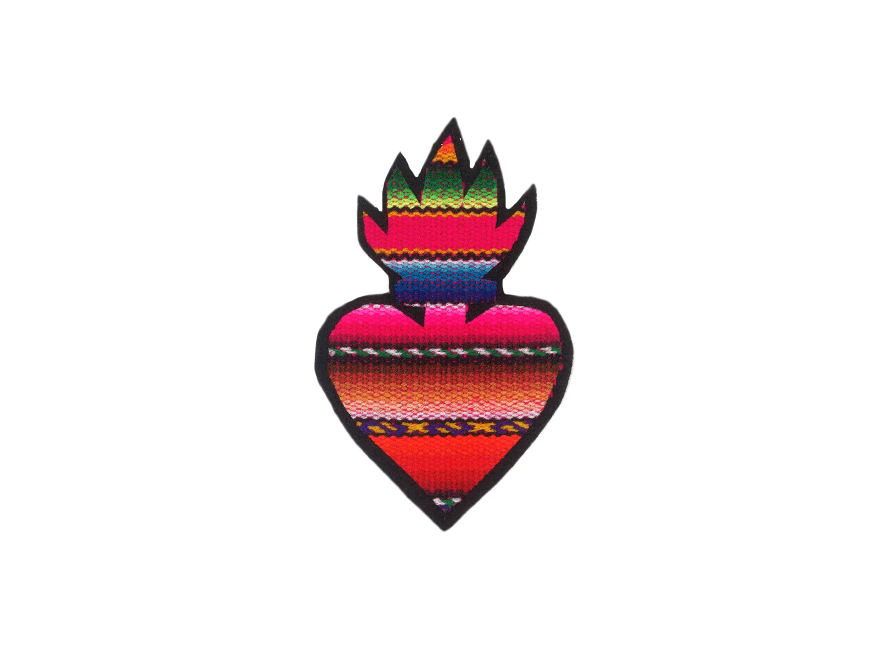 Sacred Heart Zarape Patch