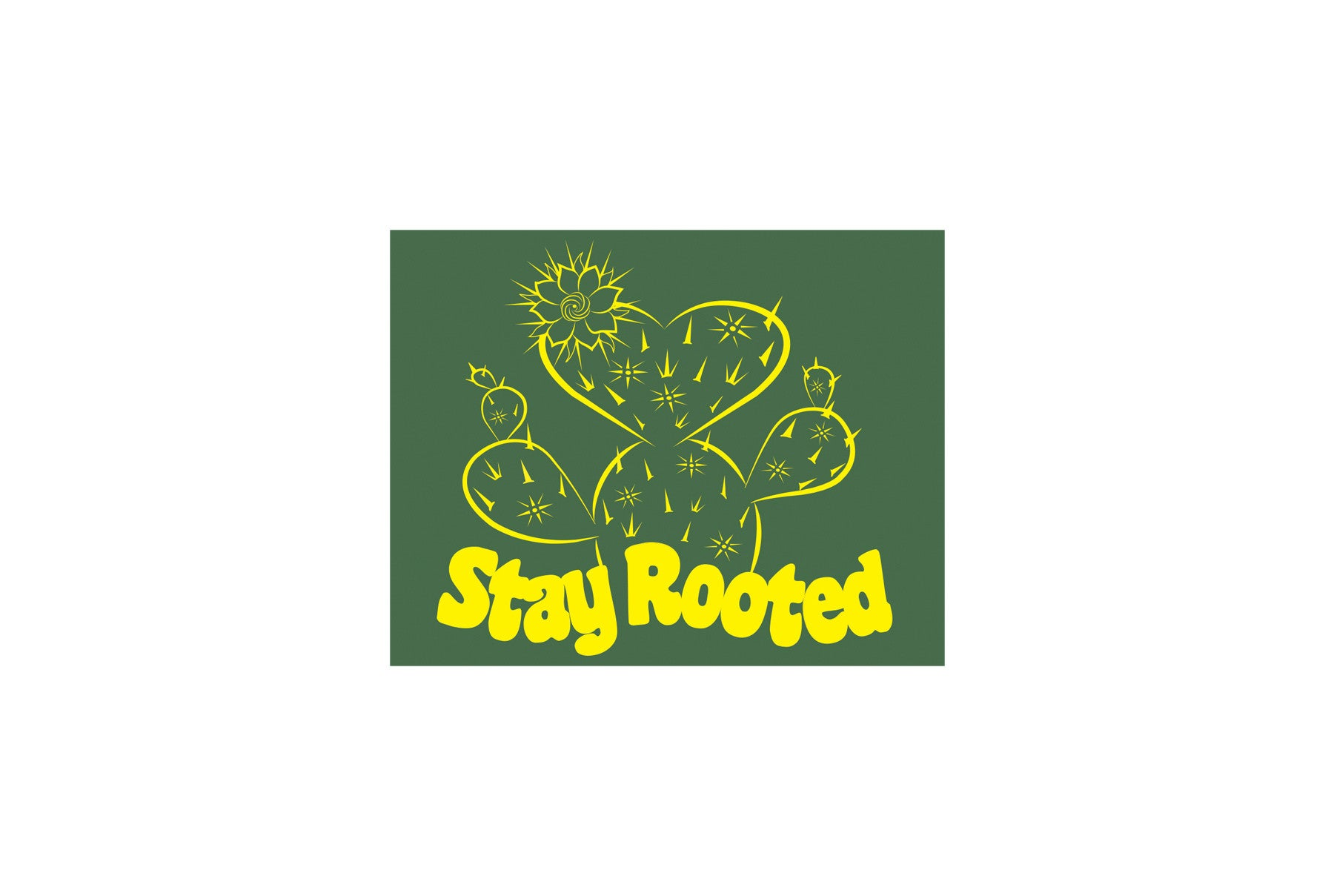 Stay Rooted Sticker