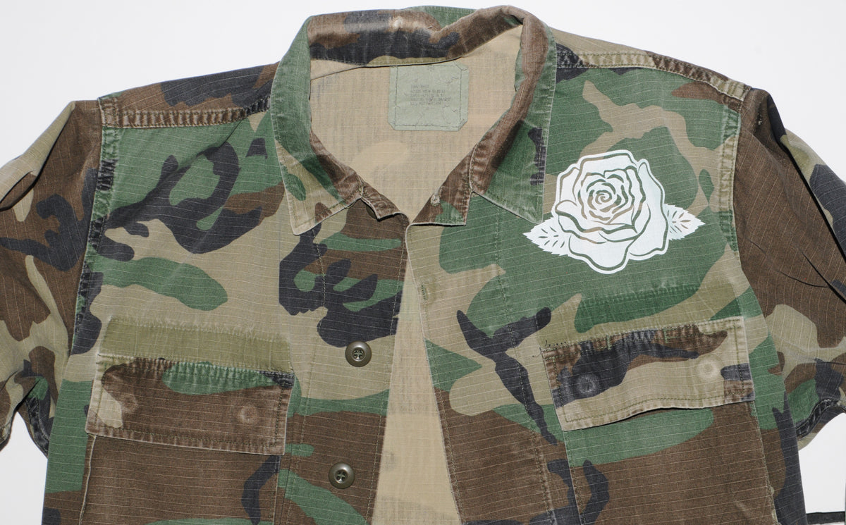 Vintage Lady Protection Camo Jacket