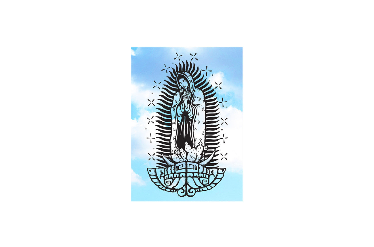 Virgencita En El Cielo Sticker
