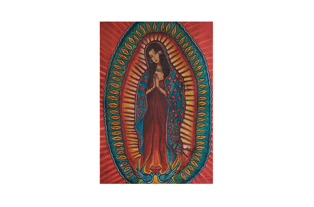 Virgen Del Barrio Card