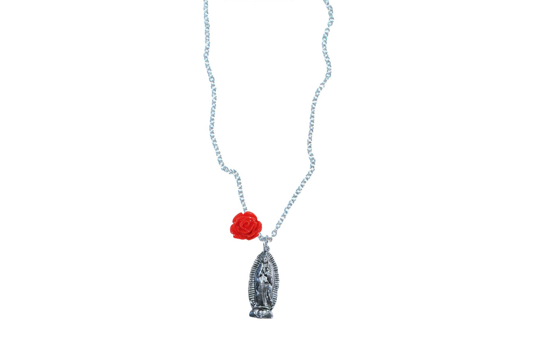 Virgen Charm Necklace