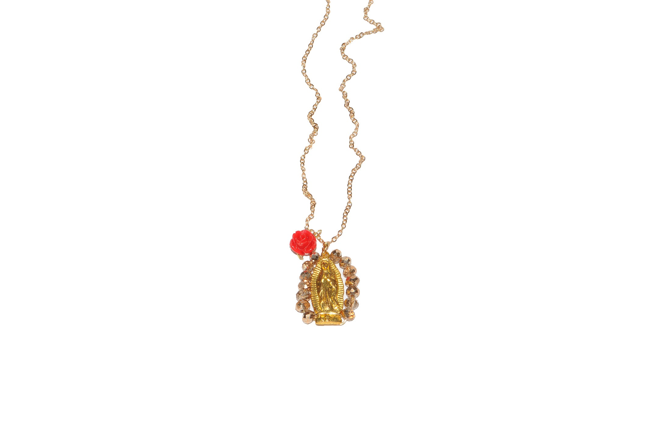 Altar de Oro Virgin Necklace