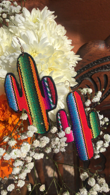 Nopal Zarape Earrings