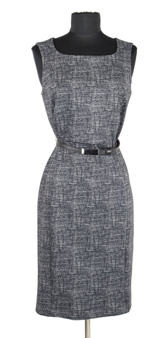 Grey Pattern Dress