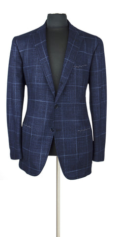 Blue and Blue windowpane