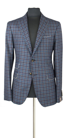 Blue and Gray windowpane