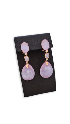 Light Purple Earing