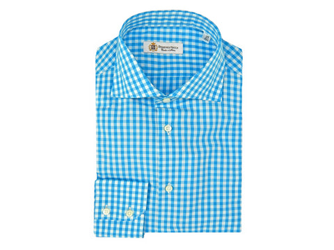 Checkered Blue Shirt