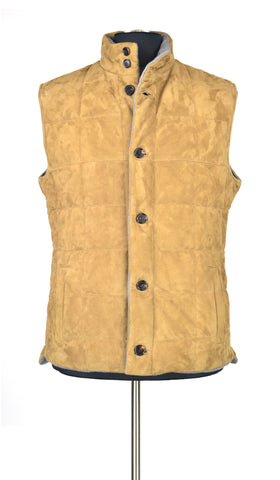 Leather Sleeveless Vest