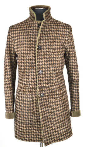 Light Brown Houndstooth Coat