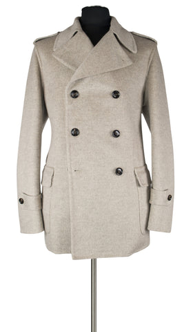 Light Beige Overcoat