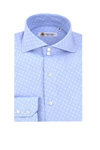 Light Blue Design Shirt