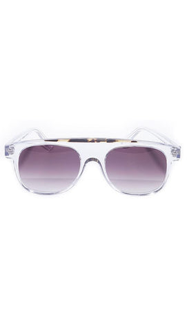 Clear with Havana line Eyeware