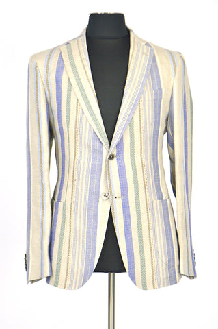 Color Stripes Spring Jacket
