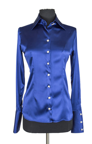Cobalt Blue Blouse