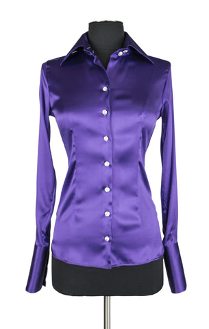 Dark Purple Blouse