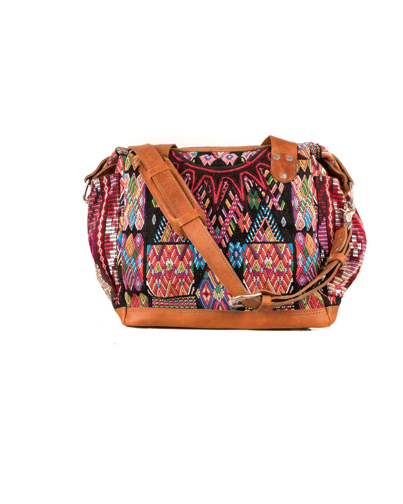 backpack handbag with textile