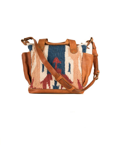 Luxe boho day bag