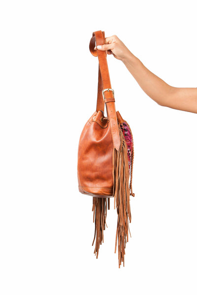 Bucket Leather Fringes