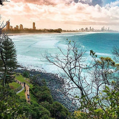 Burleigh Heads national park Okanui