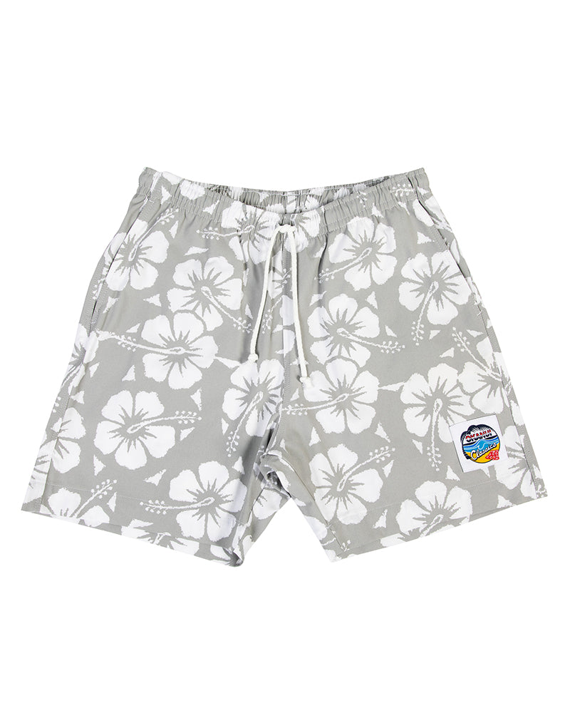 Classic Short Shorts - Hibiscus Cool Grey (New Colour)