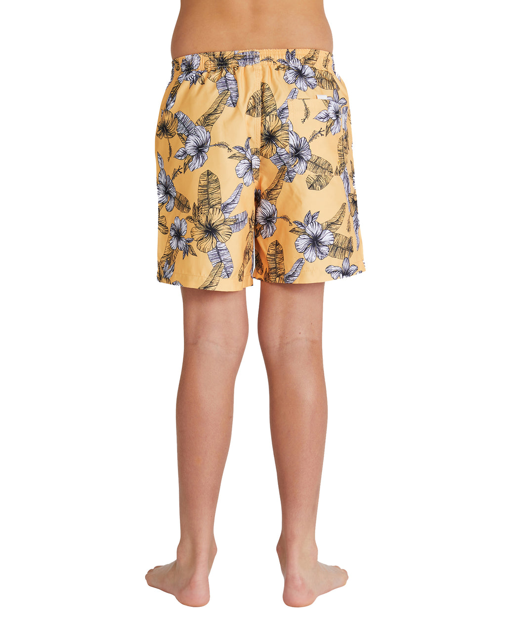 Kids Swim Short - Fern Gully - Mango