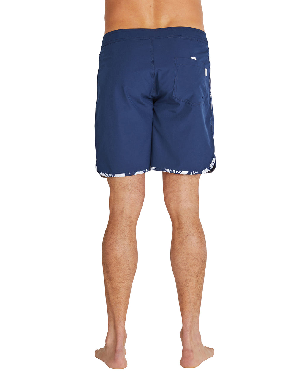 Board Shorts - Retro Boardrider Bind - Navy