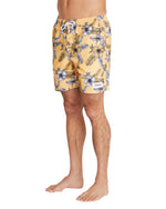 Swim Short - Fern Gully - Mango