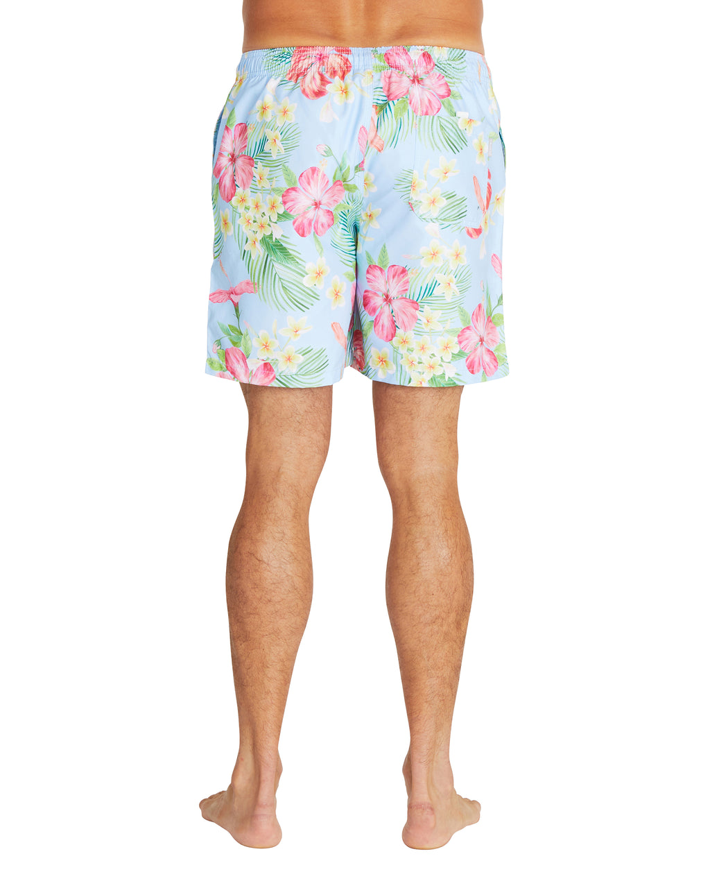 Swim Short - Tropic Shores - Light Blue