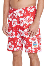 Classic Shorts - Hibiscus Red