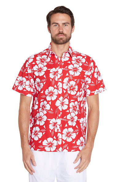 Classic Shirts - Hibiscus Red - NEW FIT