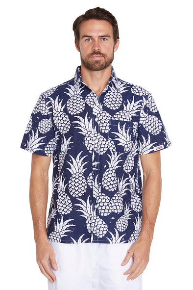 Classic Shirts - Pineapple Navy - NEW FIT
