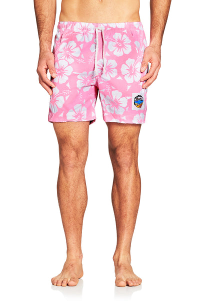 Short Shorts - Hibiscus Pale Pink