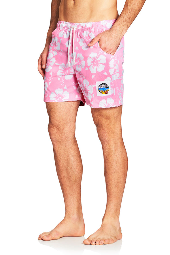 Classic Short Shorts - Hibiscus Pale Pink