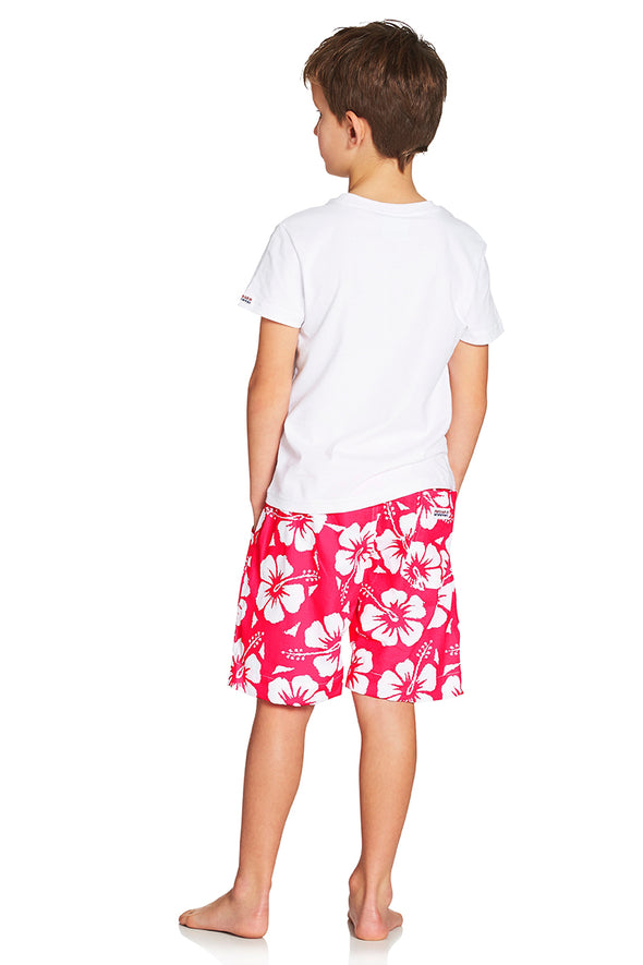 Kids Classic Shorts - Hibiscus Glow Pink