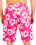 Classic Boardies - Hibiscus Glow Pink (It's Back)