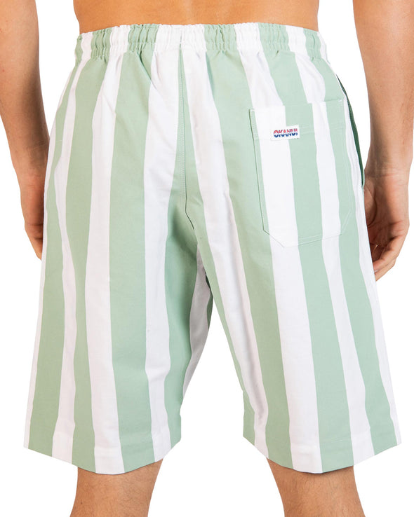 Classic Shorts - Stripes Mint (NEW COLOUR)